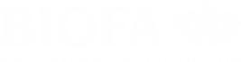 BIOFA Wohngesund und Nachhaltig Logo weiß